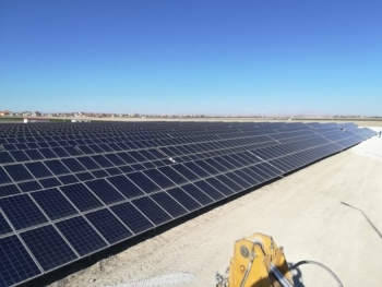 900 KW Konya Municipality Solar Power Plant Engineering , Procurement and Application