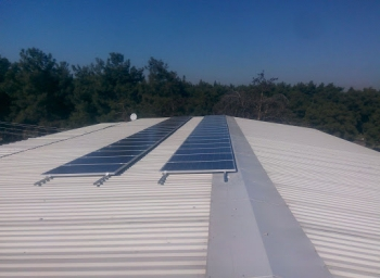 Mersin City 900 kW Solar Roof Project
